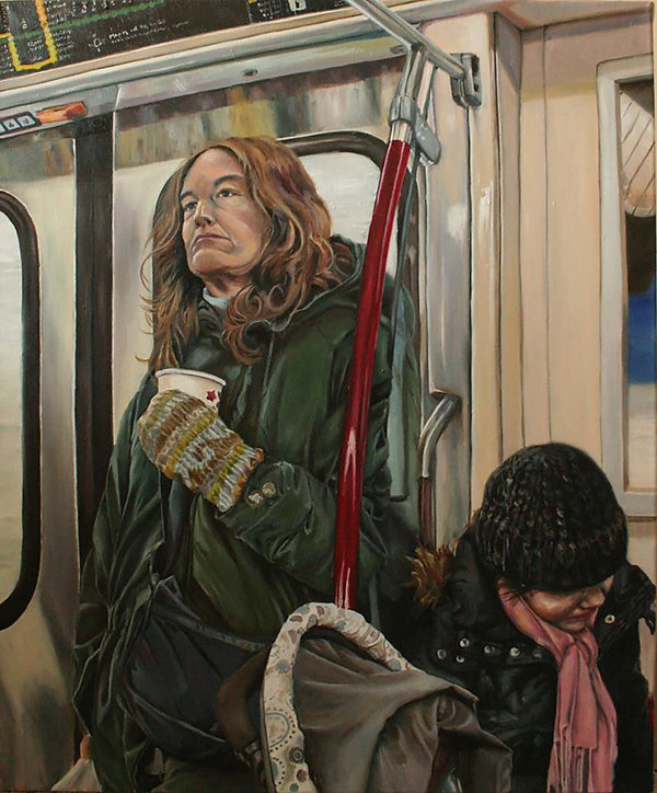 A Woman on the Subway.jpg