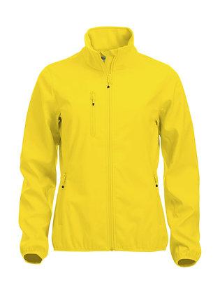 Basic Softshell Jacke Damen