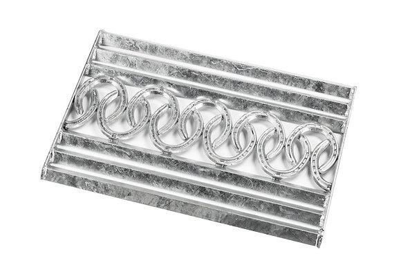 Türmatte aus Metallhufeisen