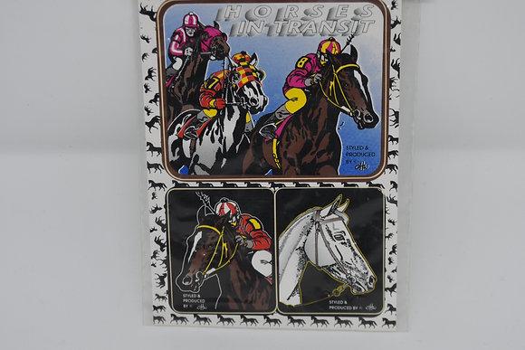 Postkarte - Sticker