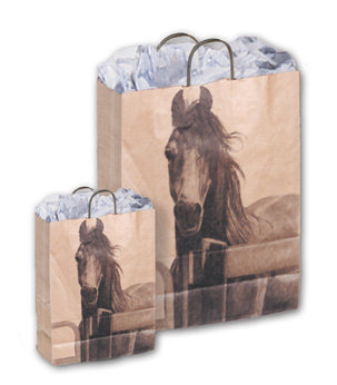 "Papiertragtasche ""Pferd"""