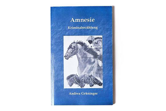 """Buch """"Amnesie"""""""