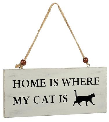 """Aushängeschild """"Cat"""""""