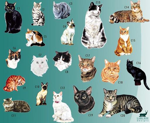 """Wanduhr """"Katze"""""""