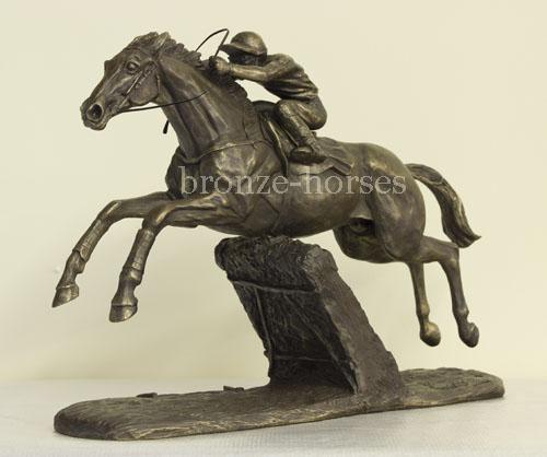 """Rennpferdefigur """"Istabraq"""""""