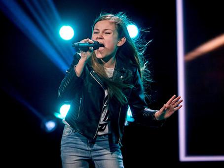 Vinder af Voice Junior til Sjov Fredag i Sæby