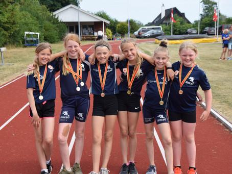 Guld til SIK's atletikpiger 11år ved VDMU