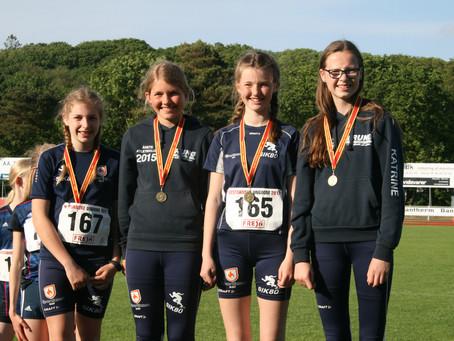 9 guld, 3 sølv og 7 bronze til atletikken i Sæby
