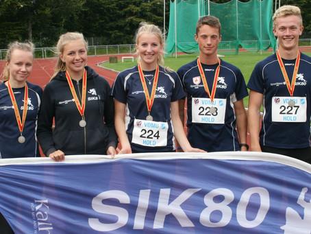 Sølv til Sæbys 16-19 års hold