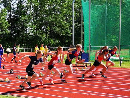 Sæby Atletik vinder 13 medaljer i Randers
