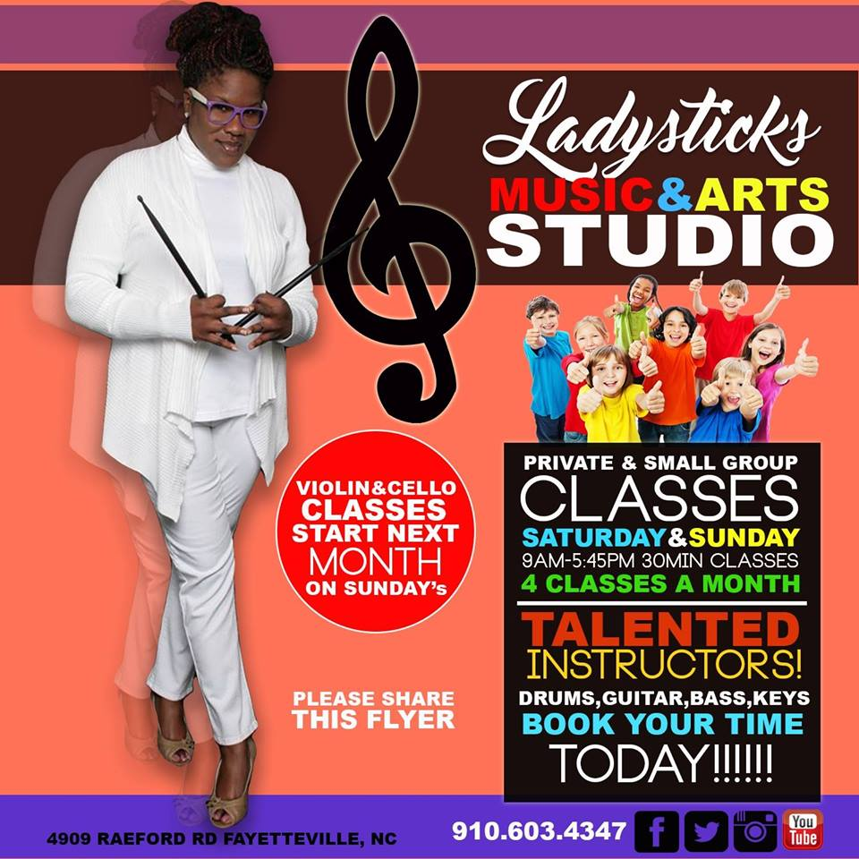 Ladysticks Music & Arts Studio