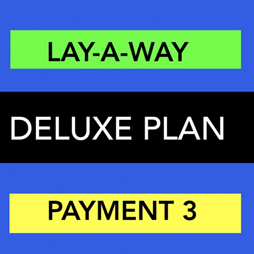 DELUXE WEBSITE LAY-A-WAY PAYMENT 3