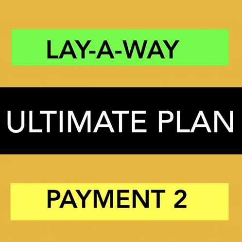 ULTIMATE WEBSITE - LAY-A-WAY PAYMENT 2