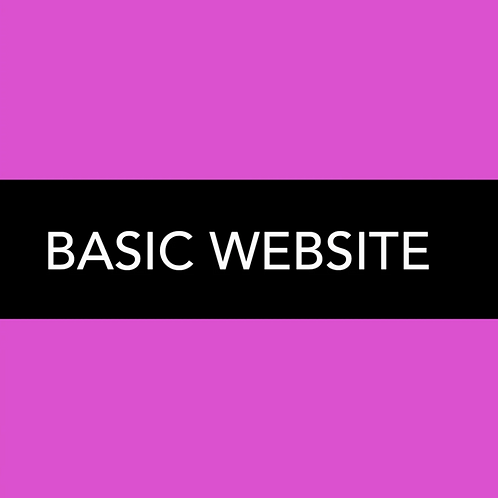 BASIC WEBSITE PLAN