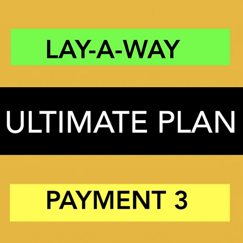 ULTIMATE WEBSITE - LAY-A-WAY PAYMENT 3