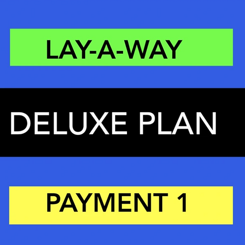 DELUXE WEBSITE LAY-A-WAY PAYMENT 1