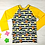 Thumbnail: Copie de Maillot de bain ananas jaune manche longue