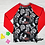 Thumbnail: Maillot de main crâne noire manche longue rouge