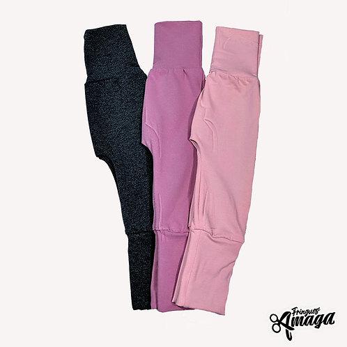 Pantalon au couleur uni
