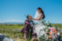 Vancouver-wedding-bride-groom-sitting-na