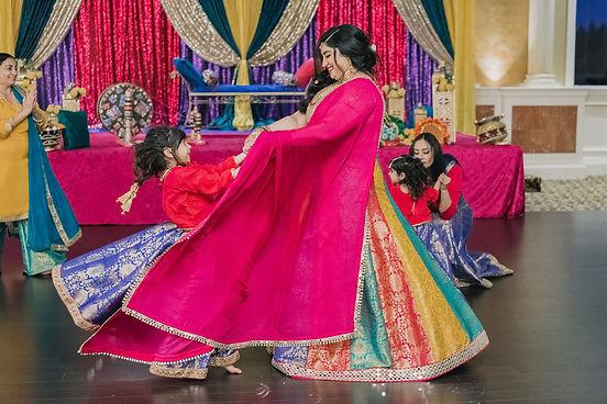 sangeet indian wedding