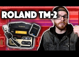 Roland TM 2 - How To Record Your Drum Triggers