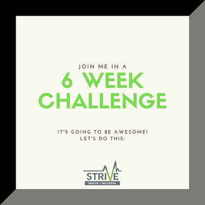 6 Week Challenge Group