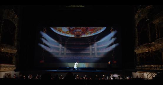 Multimedia scenery for the Bolshoi Theater