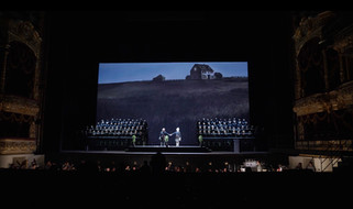 Multimedia scenery for the Bolshoi Theater