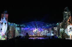 """""""Festival of music and light"""" at VDNH"""