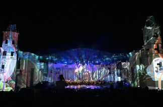 """Festival of music and light"""
