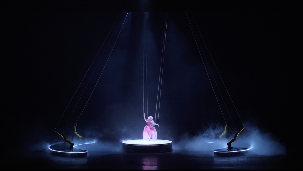 Stereo 3D performance in Mariinsky theatre