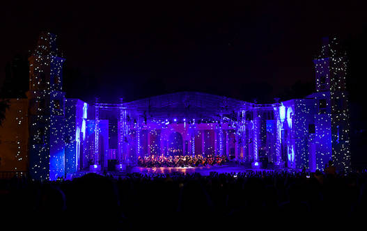 """Festival of music and light"" at VDNH"