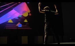 Dance stereo 3D performance