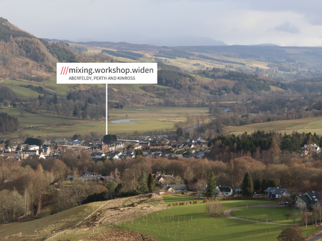 Client News: Perthshire Charity is the New Maker of what3words Signs