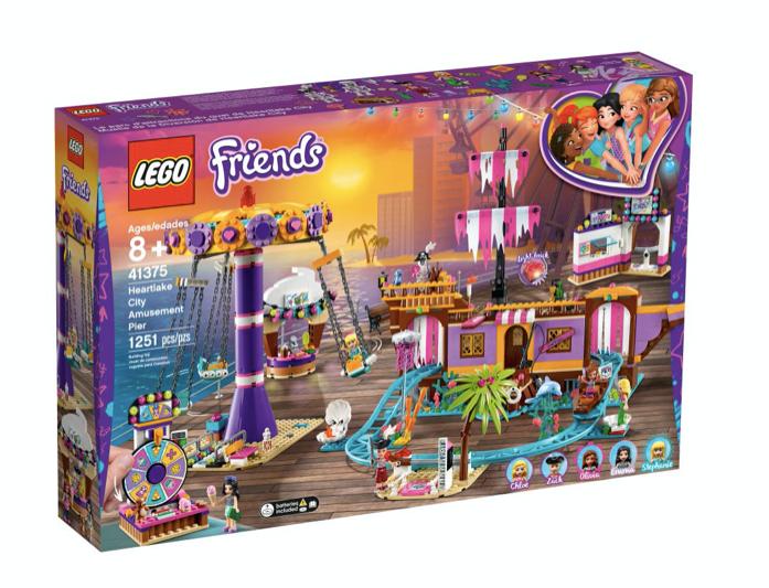 LEGO 41375 - Muelle de la Diversión de Heartlake City