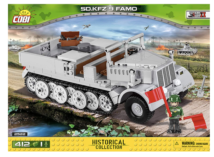 COBI 2522 - SD.Kfz 9 Famo