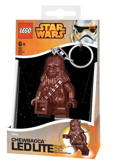 LEGO Star Wars - LED LITE - Llavero con luz - Chewbacca