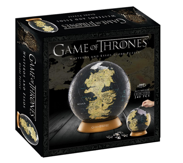 4D Cityscape - Game of Thrones Globo 15,24 cm