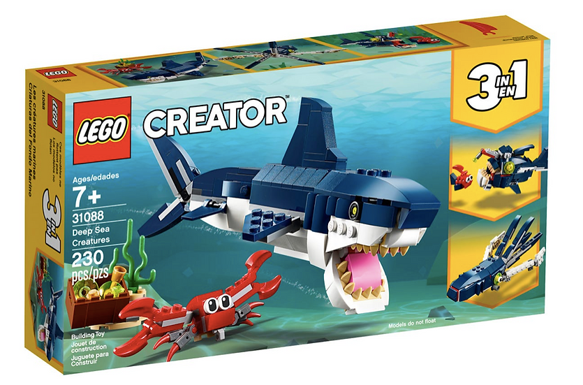LEGO 31088 - Criaturas del Fondo Marino