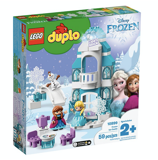 LEGO 10899 - DUPLO - Frozen: Castillo de Hielo