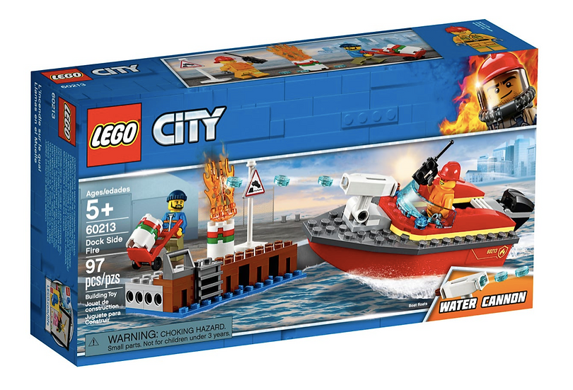 LEGO 60213 - Llamas en el Muelle