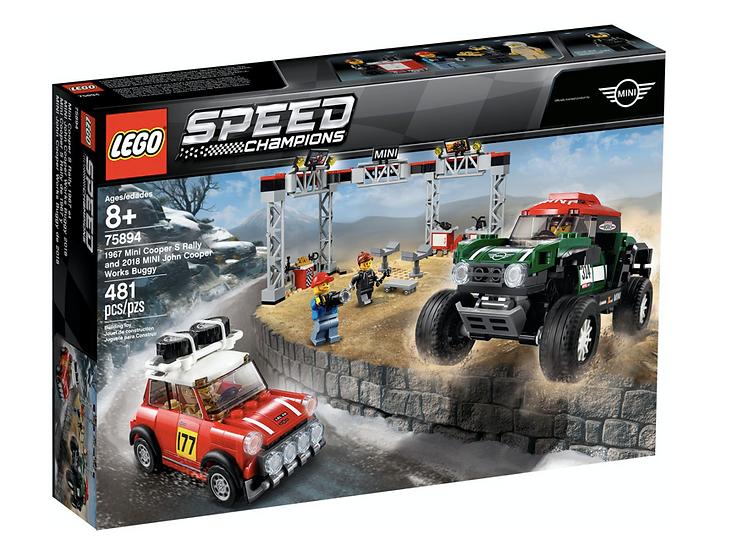 LEGO 75894 - Mini Cooper S Rally de 1967 y MINI John Cooper Works Buggy de 2018