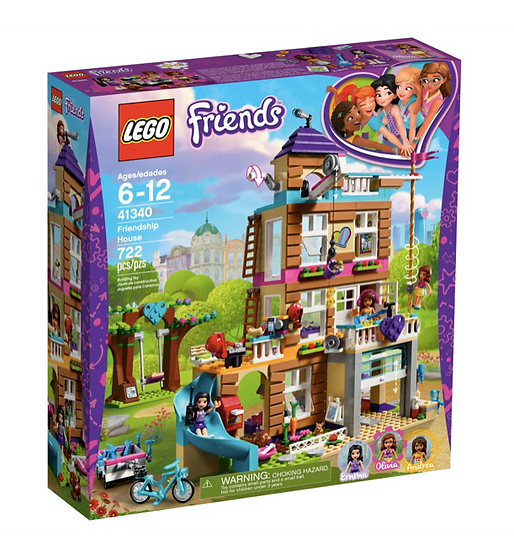LEGO 41340 - Casa de la amistad