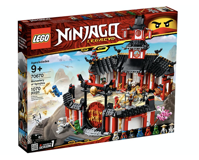 LEGO 70670 - Monasterio del Spinjitzu