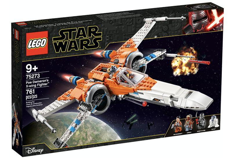 LEGO 75273 - Caza Ala-X de Poe Dameron