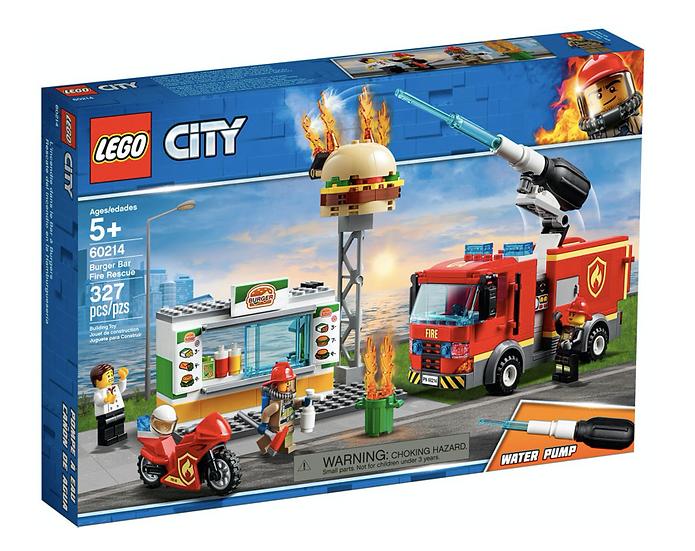 LEGO 60214 - Rescate del Incendio en la Hamburguesería