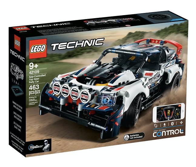 LEGO 42109 - Coche de Rally Top Gear Controlado por App