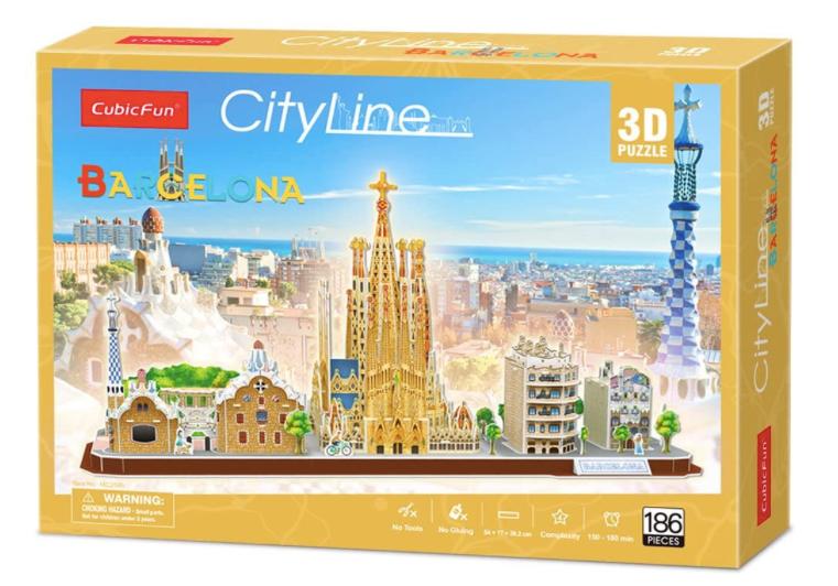 Puzzle 3D - MC256h  - City Line Barcelona