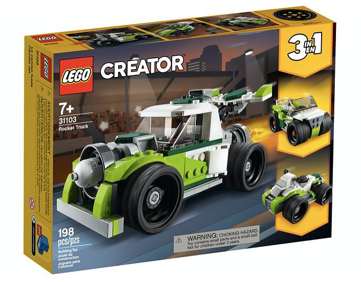 LEGO 31103 - Camión a Reacción